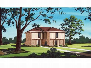 Multi-Family House Plan, 021M-0007