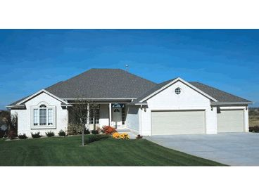 1-Story Home Plan Photo, 031H-0100