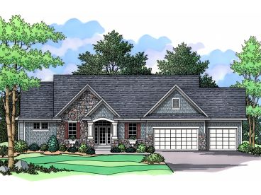 1-Story Home Plan, 023H-0092