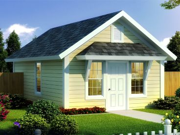 Tiny Home Plan, 059H-0218
