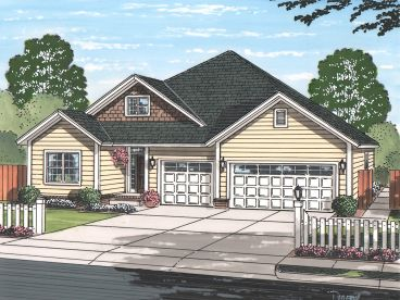 Traditional Home Plan, 059H-0203