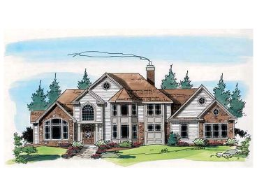 2-Story House Design, 047H-0042