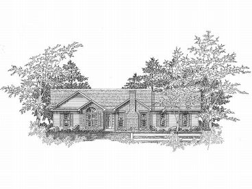 Ranch House Plan, 019H-0037
