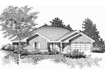 Craftsman Home Design, 061H-0034