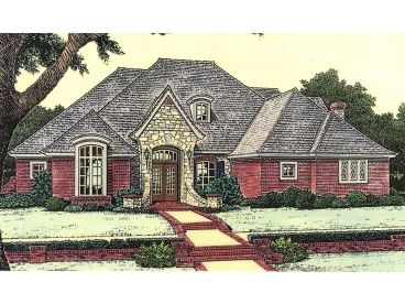 European Home Plan, 002H-0072