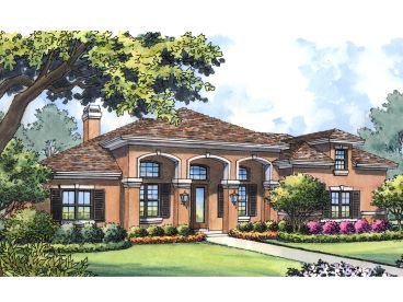 Sunbelt Home Plan, 043H-0253