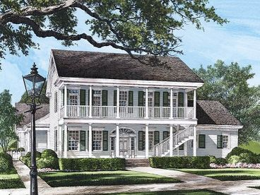Southern Home Design, 063H-0011