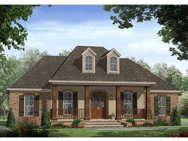 European Home Plan, 001H-0213