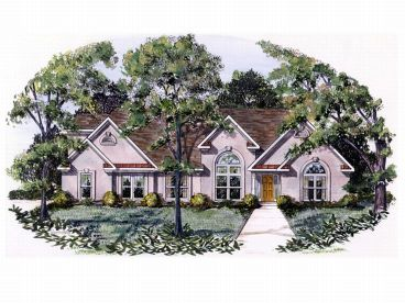 Sunbelt House Plan, 019H-0109