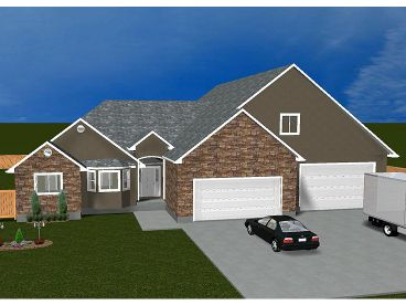 Family Home Plan, 065H-0050