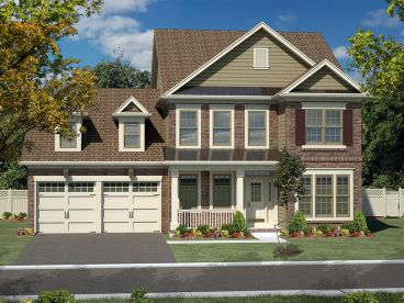 Two-Story Home Plan, 014H-0091