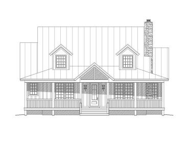 Country Home Design, 062H-0032