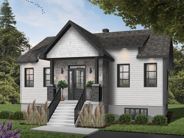 Small House Plan, 027H-0516