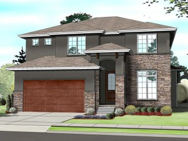 Tuscan Home Plan, 050H-0106