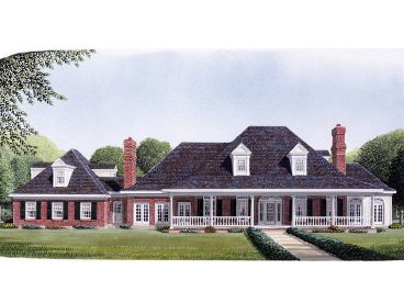 Luxury House Plan, 054H-0020