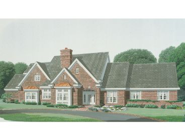 Luxury Home Plan, 054H-0069