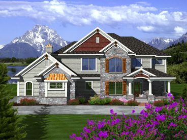 Two-Story House Plan, 020H-0321