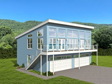 Modern House Plans The House Plan Shop