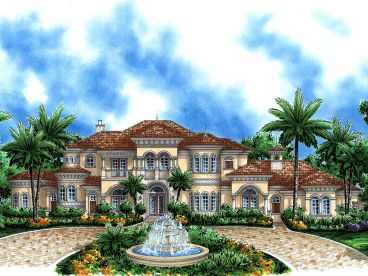 Premier Luxury Home Plan, 037H-0164