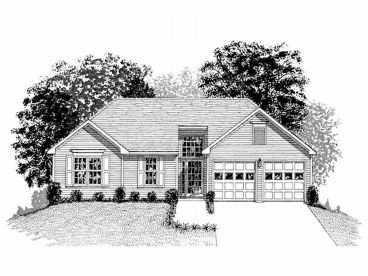 1-Story House Plan, 007H-0005