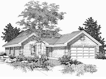 Family House Plan, 061H-0031