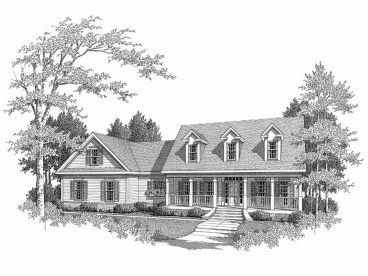 Country House Design, 019H-0121