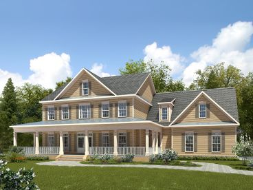 Country House Plan, 019H-0183