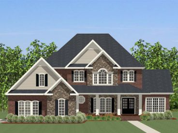 Two-Story Home Plan, 067H-0045