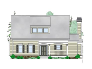 Mountain Home Plan, 053H-0080