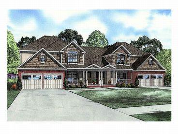 Plan 025m 0064 find unique house plans home plans and for Townhouse construction plans