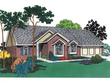 Traditional Home Plan, 002H-0008