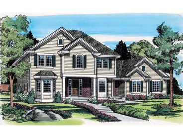 Two-Story Home Plan, 047H-0017