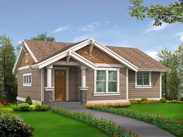 Garage Apartment Plan, 035G-0008