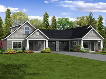 Multi-Family House Plan, 051M-0027