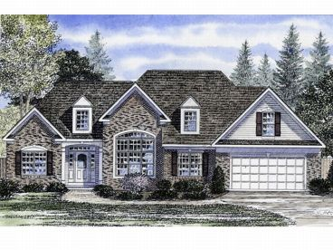 Ranch House Plan, 014H-0016