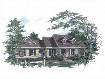 Country House Plan, 004H-0047