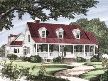 Country Home Plan, 063H-0035