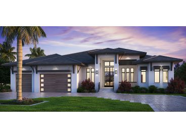 Sunbelt House Plan, 069H-0078