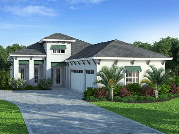 Sunblet House Plan, 069H-0015