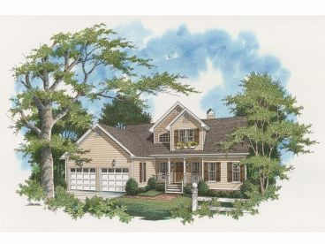 Country House Plan, 030H-0027