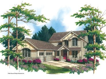 2-Story Home Plan, 034H-0121