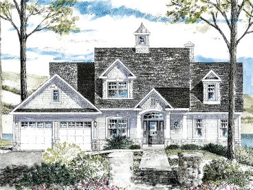 Two-Story Home Plan, 014H-0105