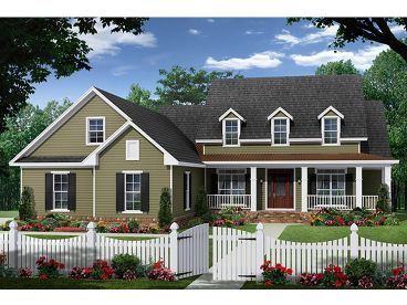 Country House Plan, 001H-0222