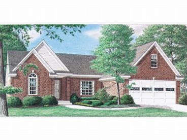 Traditional House Plan, 011H-0001