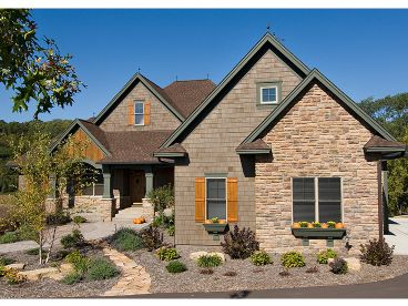 Mountain House Plan, 023H-0149