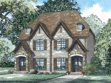 Duplex House Plan, 025M-0103