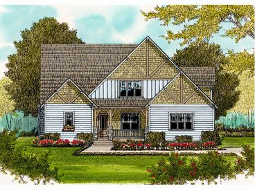 Two-Story Home Plan, 029H-0113