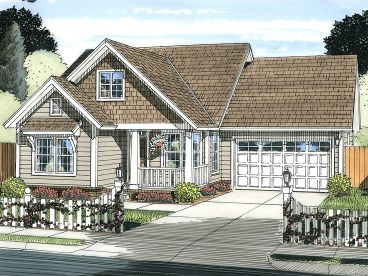 Ranch House Plan, 059H-0181