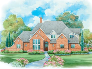 Two-Story House Plan, 031H-0227