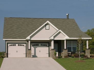 Bungalow House Plan, 073H-0081